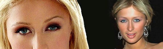 Paris Hilton Renkli Lensi